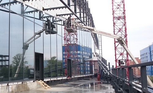 монтаж светопрозрачных конструкций